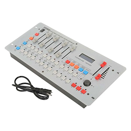 Tengchang DMX Controller DMX 512 DJ Lighting Disco 240 CH Controller Console For Stage Light Mixing Desk ()