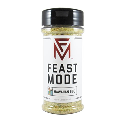 Hawaiian BBQ - Feast Mode Flavors - Low Sodium, No MSG, Gluten Free, All Natural, Meal Prep Seasoning , Healthy , Honey Powder, Fruit Blend, Coconut