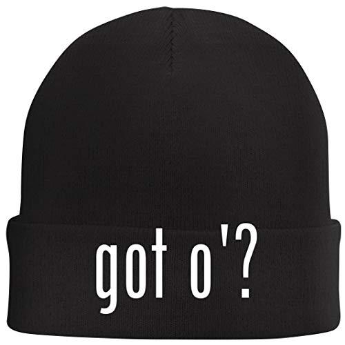 got o'? - Beanie Skull Cap with Fleece Liner, Black ()