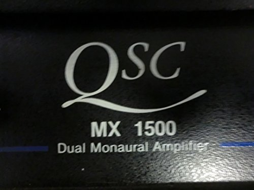 Used, QSC MX 1500 Dual Monaural Amplifier for sale  Delivered anywhere in USA