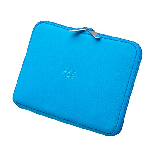 Research in Motion Sky Blue Zip Sleeve for BlackBerry Playbook Tablet -