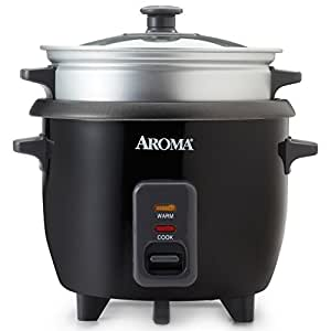 Amazon.com: Aroma 3 Cups Uncooked/6 Cups Cooked Rice