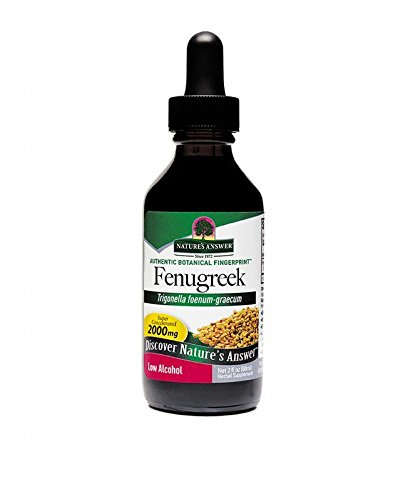 Natures Answer Fenugreek Seed Organic Alcohol 2 oz by Nature's Answer (Image #2)