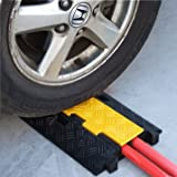 Electriduct Extreme Rubber Cable Protectors - RPS,  Dual Channel Cable Protector, 3 Pack