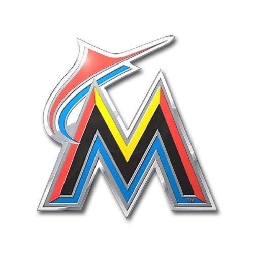 MLB Florida Marlins Die Cut Color Automobile - Shopping Online Miami