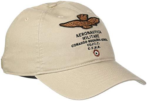 Aeronautica Militare Cappellino, Gorra de Béisbol para Hombre Beige (Sabbia 57356)