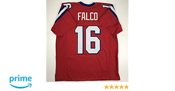 66b52baf5ac Amazon.com: Unsigned Shane Falco Washington Sentinels Red Custom Stitched  Football Jersey Size Men's XL New No Brands/Logos: Sports Collectibles