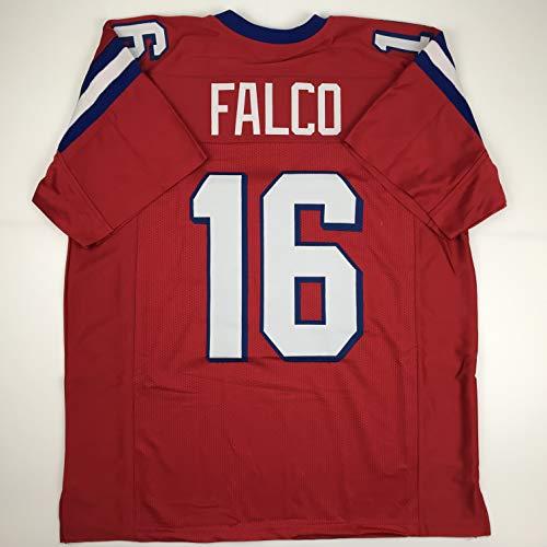 Unsigned Shane Falco Washington Sentinels Red Custom Stitched Football Jersey Size Men