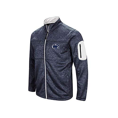 Colosseum Penn State Mens Glacier Full Zip Jacket-Medium