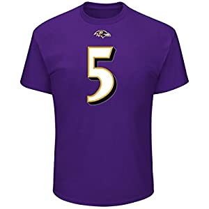 Majestic NFL Fan Shirt - Baltimore Ravens #5 Joe Flacco