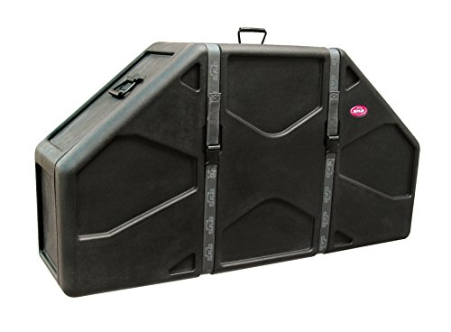SKB 1SKB-DM0234 Marching Quad/Quint Case with Wheels and Padded Interior (Quad Marching Drums)