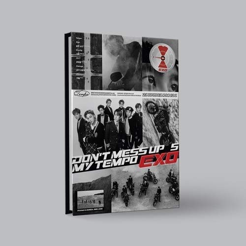 - EXO-[Don't Mess Up My Tempo]5th Album Allegro CD+1p Poster+Booklet+Card+Pre-Order+Extra PhotoCard Set+Tracking Number K-POP Sealed