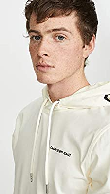 Calvin Klein Jeans Men's Calvin Logo Pullover Hoodie