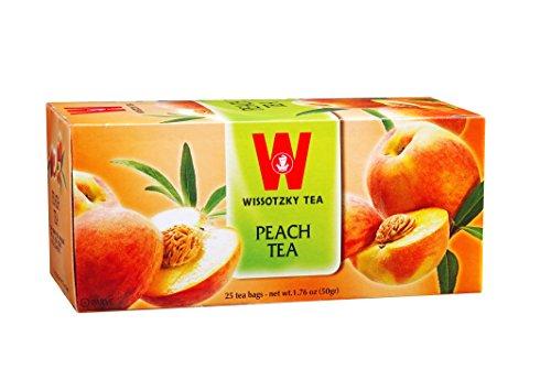 Wissotzky Tea Peach Tea - 25 Tea ()