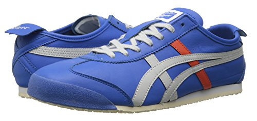 Onitsuka Tiger Mexico 66 Classic Running Shoe, Strong Blue/Soft Grey, 11 M US