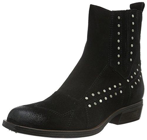 Mjus 662205-0501-6002, Zapatillas de Estar por Casa para Mujer Negro - negro
