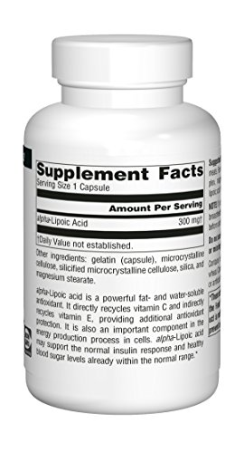 Source Naturals Alpha Lipoic Acid Antioxidant Protection 300mg - 120 Capsules by Source Naturals (Image #9)