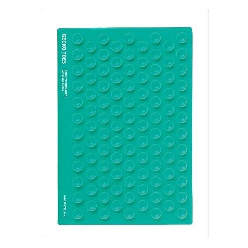 Toes turquesa Gecko 4x6 sin forro de la cubierta del cuaderno - adhieren a las superficies con succión