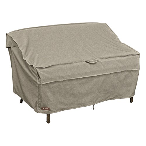 Classic Accessories 55-676-026701-RT Montlake FadeSafe Patio Bench/Loveseat/Sofa Cover, Small