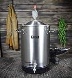Stainless Steel Bucket Fermentor - 7.5 gallon