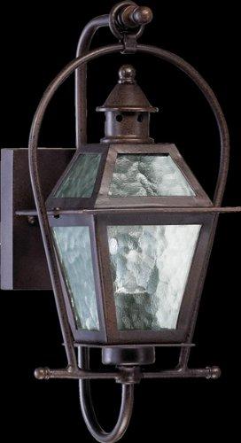 Quorum Outdoor Lighting - Quorum 7919-1-86 French Quarter - One Light Outdoor Wall Lantern, Oiled Bronze Finish