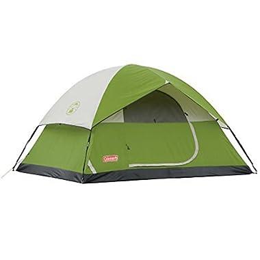 Coleman SunDome 4 Person Dome Tent (Green)