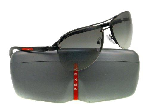 demi shiny black frame/gray gradient lens) prada sport (linea rossa) ps56ms 太阳镜太阳眼镜