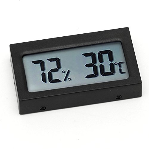 Poity Small Size Digital LCD Thermometer Hygrometer Humidity Temp Meter