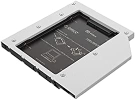 ORICO Hard Drive SSD Caddy for Laptop 7mm and 9.5mm CD Optical Drives, SATA III Connectivity for Dell, HP, MacBook...