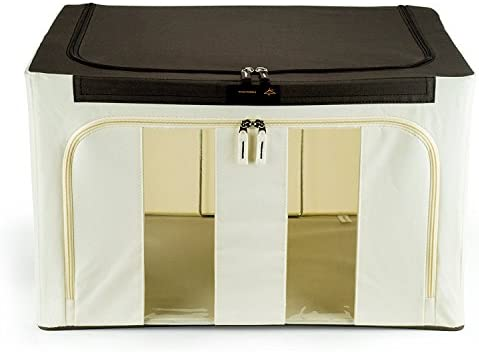Hangerworld Caja de ordenación 50x40x32cm Transpirable con Tapa y ...