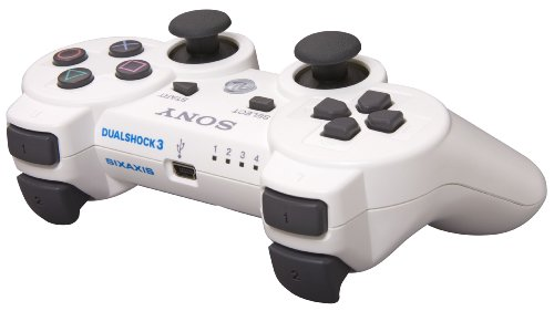 PlayStation 3 Dualshock 3 Wireless Controller (Classic White)