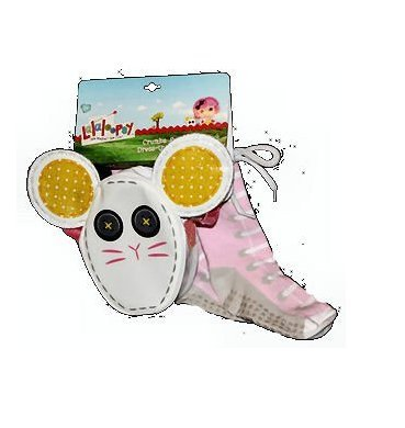 Lalaloopsy Crumbs Sugar Cookie Costume (Lalaloopsy Mittens Fluff N Stuff Dress-Up Accessory Set Purse & Socks)