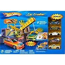 Hot Wheels City Car Crusher w/ 5 Cars Included