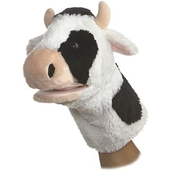 Aurora World Cow Puppet,10-Inch
