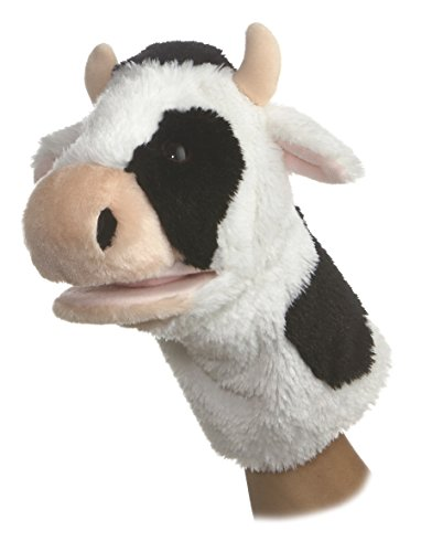 Cow Puppet<br>Aurora World<br>Approx 10 Inches