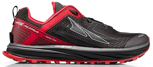 ALTRA AFM1957F Men's TIMP 1.5 Trail Running Shoe, Red/Gray - 11.5 D(M) US (Best Marathon Shoes For Heavy Runners)