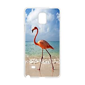 BE A FLAMINGO IN A FLOCK OF PIGEONS Samsung Galaxy Note 4 Cell Phone Case White Protect your phone BVS_618377