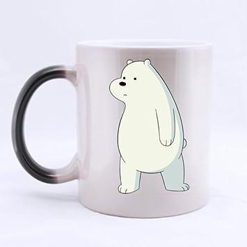 Fantastic Mug We Bare Bears Ice Bear Custom Color Changing Morphing