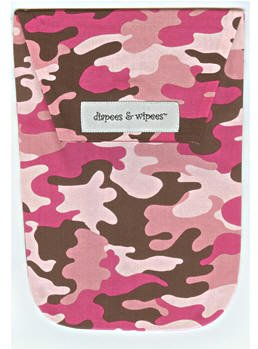 Diapee & Wipees Diaper Holder (Pink Camo)