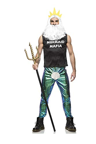 Seeing Red Manly Merman Costume
