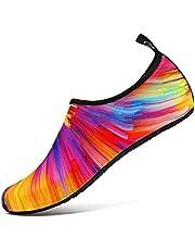 Funnie Unisex Volwassenen Waterschoenen Barefoot Schoenen Sneldrogende Slip-On Aqua Yoga Sokken Voor Strand Zeepark Surfen Duiken Zwemmen Wandelen Varen Snorkelschoenen