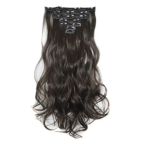 Fullfun Human Hair Wigs for Women Deep Curly Middle Part Wigs Cosplay (B)