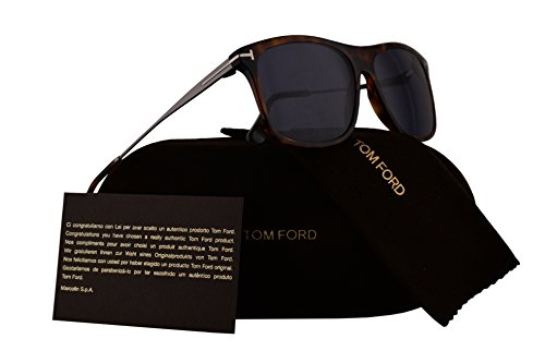 Tom Ford FT0588 Max-02 Sunglasses Red Havana w/Blue Lens 54V - Tom Sunglasses Alicia Ford
