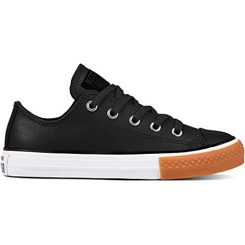 Black Black White 001 Deporte Ox Unisex CTAS Zapatillas de Converse Adulto Negro zFq6B8S