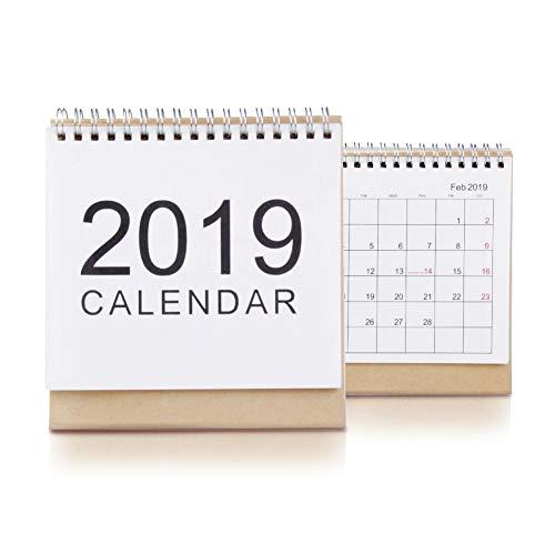 sk Calendar Pad, 2018-2019,Monthly Academic Calendar Planners.(Small) ()