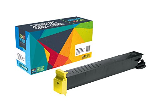 Do it Wiser Compatible Toner Cartridge Replacement for Konica Minolta Bizhub C451 C550 C650 Yellow (Konica Bizhub C451)