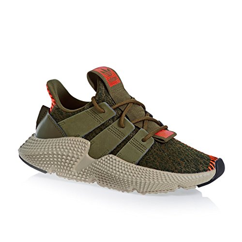 adidas Originals Prophere J Trace Olive Textile Youth Trainers Green