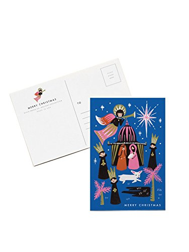 Nativity Christmas Postcards by Rifle Paper Co. -- Set of 10