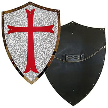 Knights Templar Armor Shield. -