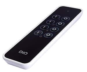 DI-O DOMO25 - Mando a distancia (3 canales), negro